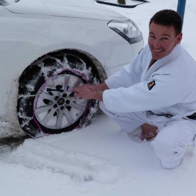 Lieurey sous la neige