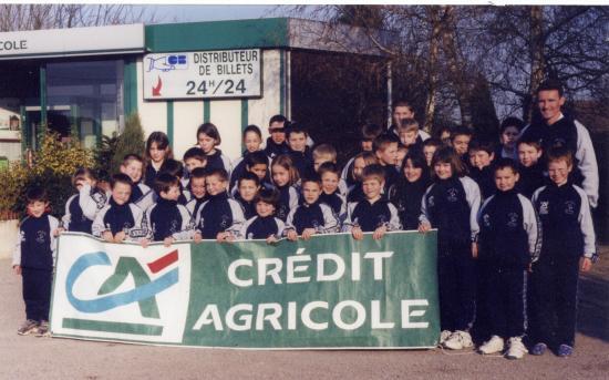 Survêtements du Crédit Agricole
